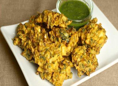 Vegetarian pakora Image